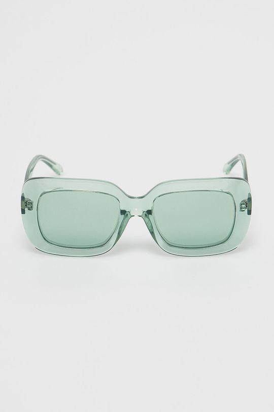 Calvin Klein Jeans - Okulary przeciwsłoneczne CKJ18502S zielony