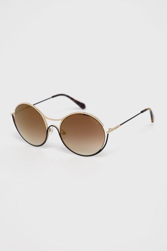 złoty brąz Balmain - Okulary przeciwsłoneczne BL2520B 01 Damski