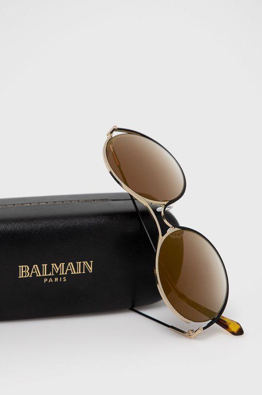 Balmain - Okulary przeciwsłoneczne BL2520B 01 Materiał syntetyczny, Metal