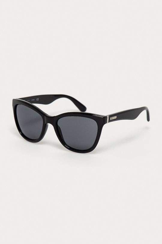čierna Guess - Slnečné okuliare GF0296 01A Dámsky