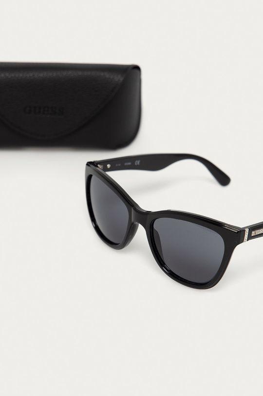 Guess - Slnečné okuliare GF0296 01A  Syntetická látka