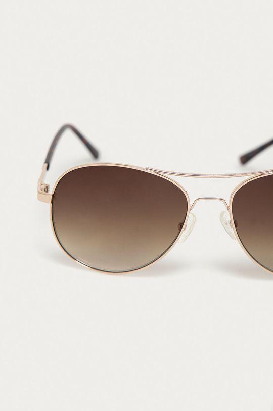 Guess - Okulary przeciwsłoneczne GF0295 33F złoty