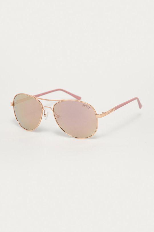 ružová Guess - Slnečné okuliare Dámsky