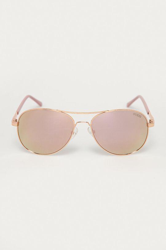 Guess - Slnečné okuliare ružová
