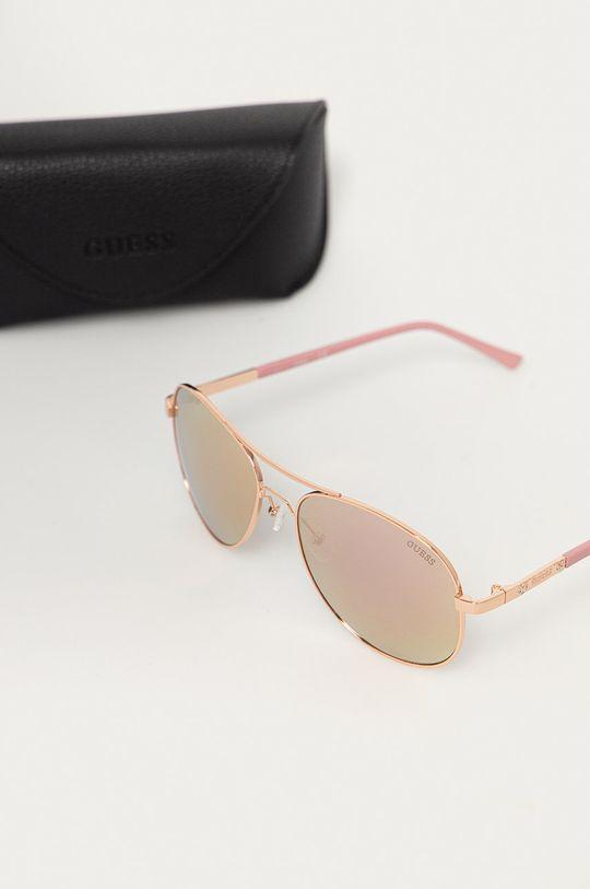 Guess - Slnečné okuliare  Kov