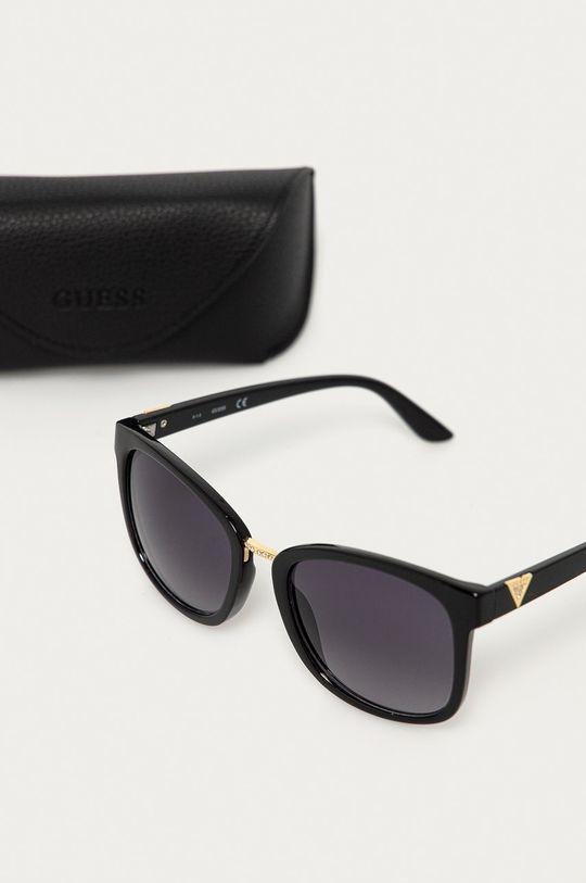 Guess - Okulary przeciwsłoneczne Materiał syntetyczny