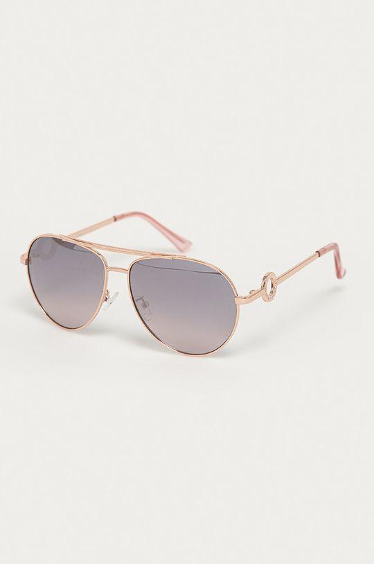 ružová Guess - Slnečné okuliare GF0364 28U Dámsky