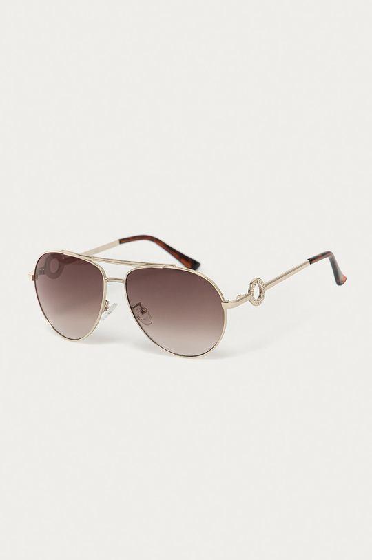 zlatá Guess - Slnečné okuliare GF0364 Dámsky