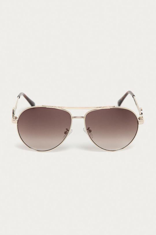 Guess - Slnečné okuliare GF0364 zlatá