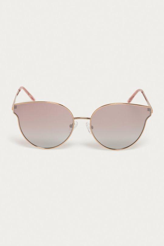 Guess - Okulary przeciwsłoneczne GF0353 28U złoty