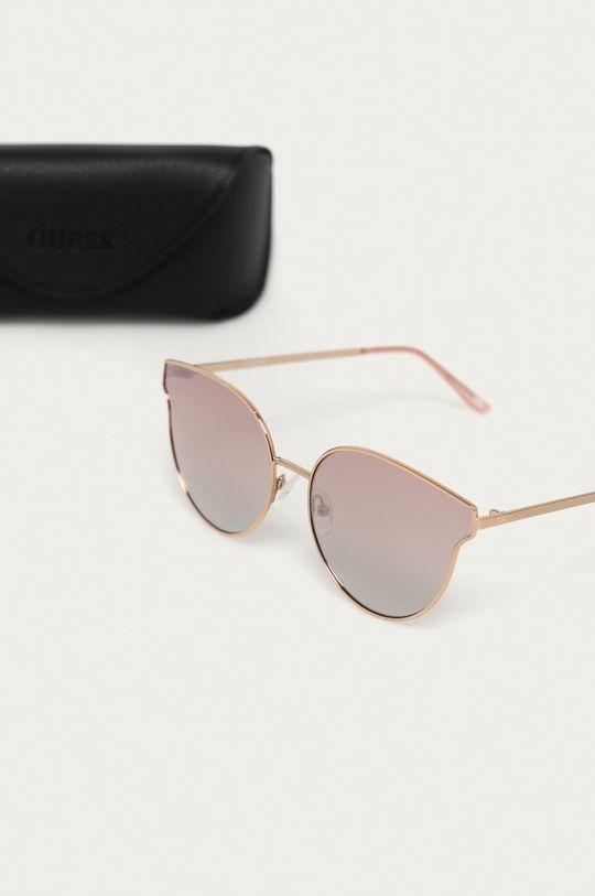 Guess - Okulary przeciwsłoneczne GF0353 28U Materiał syntetyczny, Metal