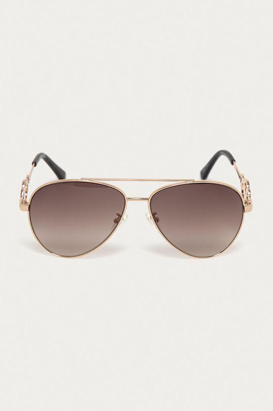 Guess - Sluneční brýle GF0365 32F zlatá