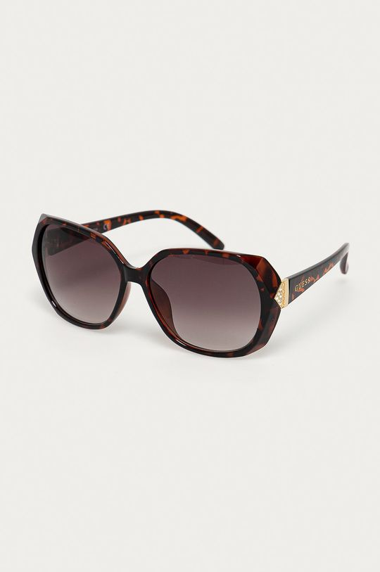hnědá Guess - Sluneční brýle GF0373 Dámský