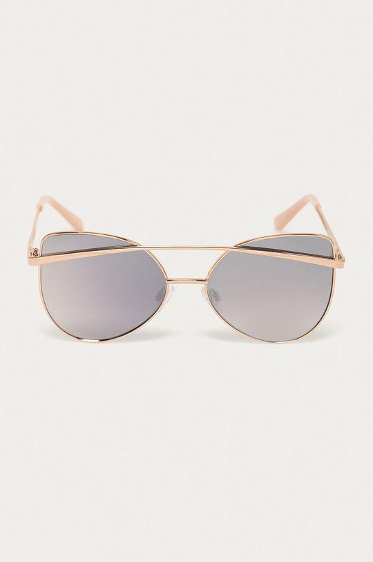 Guess - Slnečné okuliare zlatá