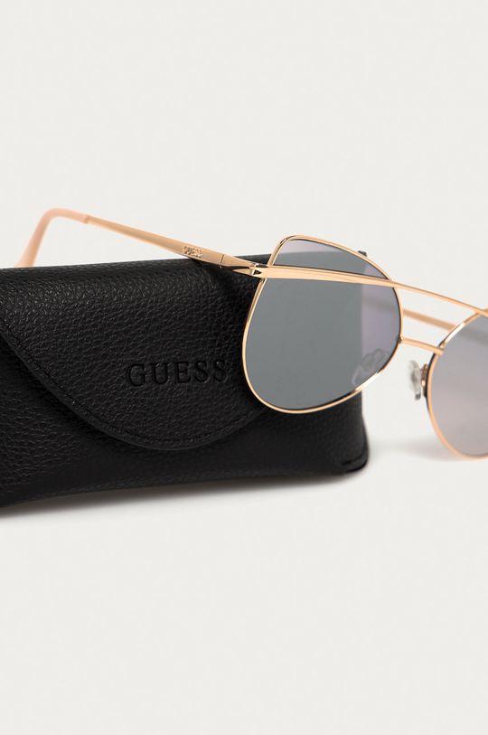 Guess - Slnečné okuliare  Syntetická látka, Kov