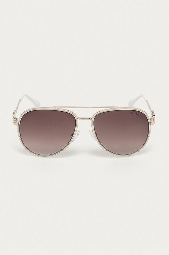 Guess - Okulary przeciwsłoneczne GF0344 srebrny