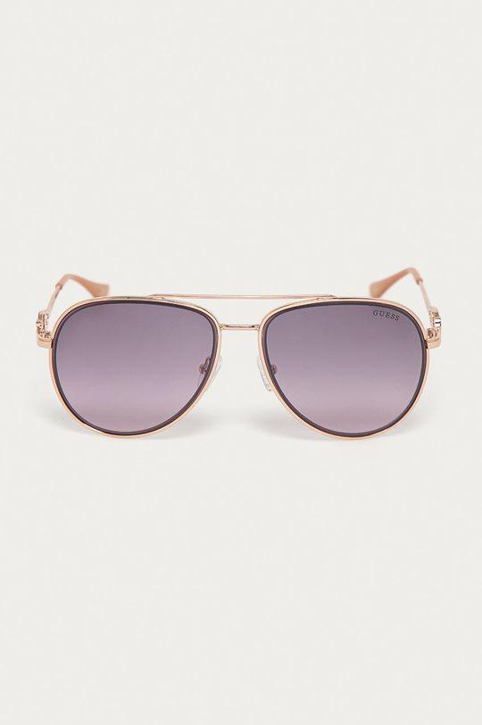 Guess - Okulary przeciwsłoneczne GF0344 28U złoty