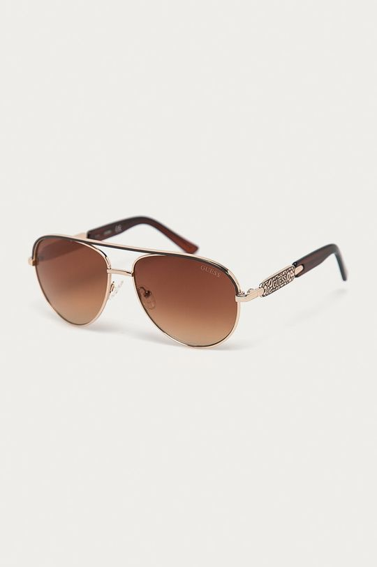 brązowy Guess - Okulary przeciwsłoneczne GF0287 Damski
