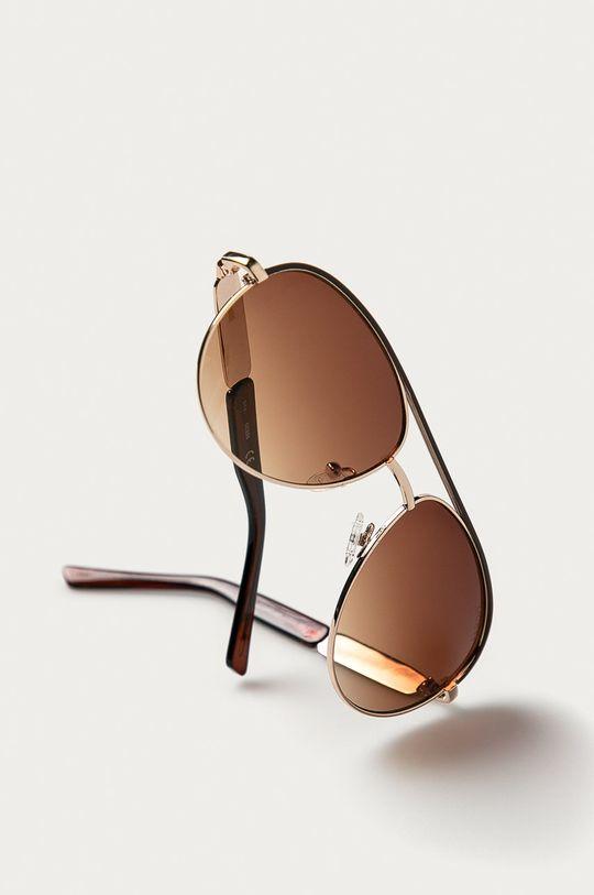 Guess - Okulary przeciwsłoneczne GF0287 Materiał syntetyczny, Metal
