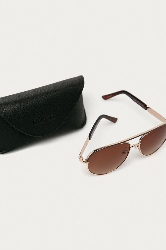brązowy Guess - Okulary przeciwsłoneczne GF0287