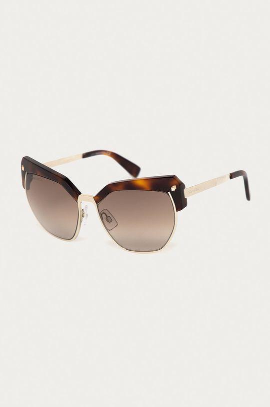 brązowy DSQUARED2 - Okulary przeciwsłoneczne DQ0253 54F Damski