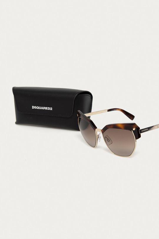 brązowy DSQUARED2 - Okulary przeciwsłoneczne DQ0253 54F