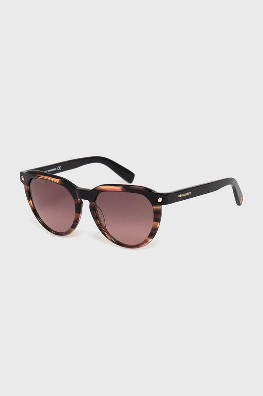 brązowy DSQUARED2 - Okulary przeciwsłoneczne Damski