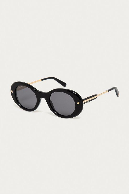 černá DSQUARED2 - Sluneční brýle DQ0325 01A Dámský