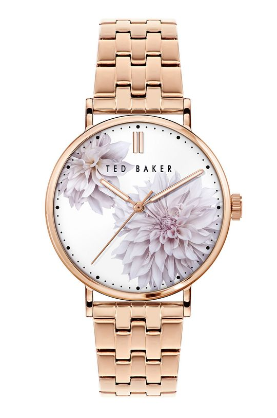 złoty Ted Baker - Zegarek BKPPHS120 Damski