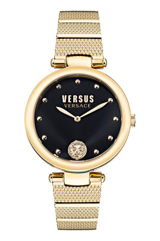 złoty Versus Versace - Zegarek VSP1G0621 Damski