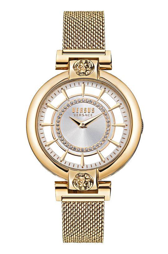 zlatá Versus Versace - Hodinky VSP1H0621 Dámský