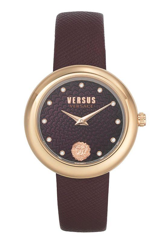 kasztanowy Versus Versace - Zegarek VSPEN1320 Damski