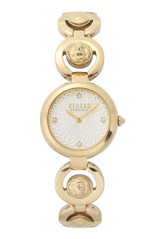 zlatá Versus Versace - Hodinky VSPHL0220 Dámský