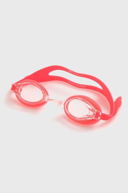 ostry różowy Nike - Okulary pływackie Damski
