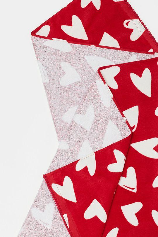 czerwony OVS - Ręcznik dziecięcy Dziewczęcy