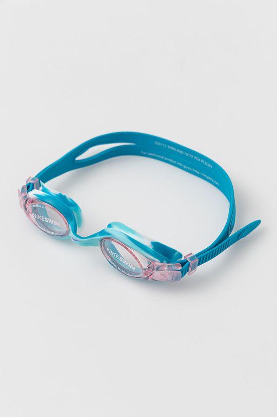 niebieski Nike Kids - Okulary pływackie dziecięce Dziewczęcy