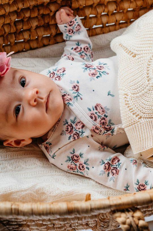 kremowy Jamiks - Kocyk niemowlęcy Fesa
