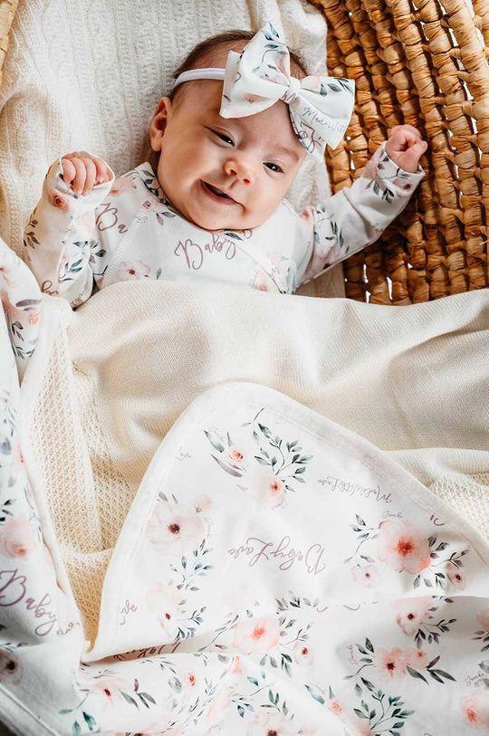 Jamiks - Ковдра для немовлят MORBI пісочний