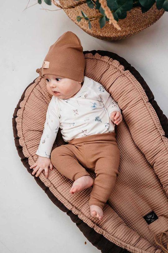 Jamiks - Kokon niemowlęcy Tobby beżowy