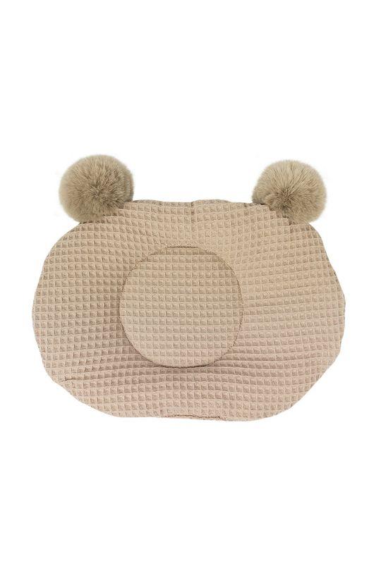 Jamiks - Poduszka niemowlęca Tobby beżowy