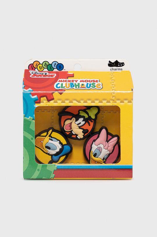 multicolor Crocs - Przypinki do obuwia dziecięce (3-pack) Dziecięcy