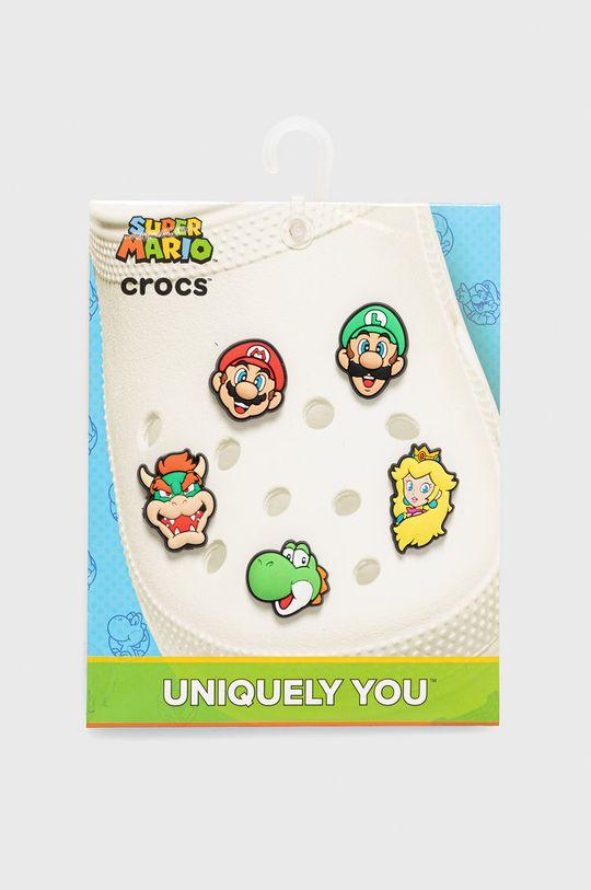 multicolor Crocs - Przypinki do obuwia dziecięce (5-pack) Dziecięcy