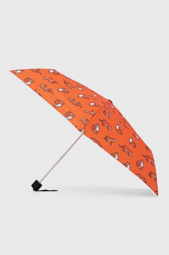 oranžová United Colors of Benetton - Deštník Dětský