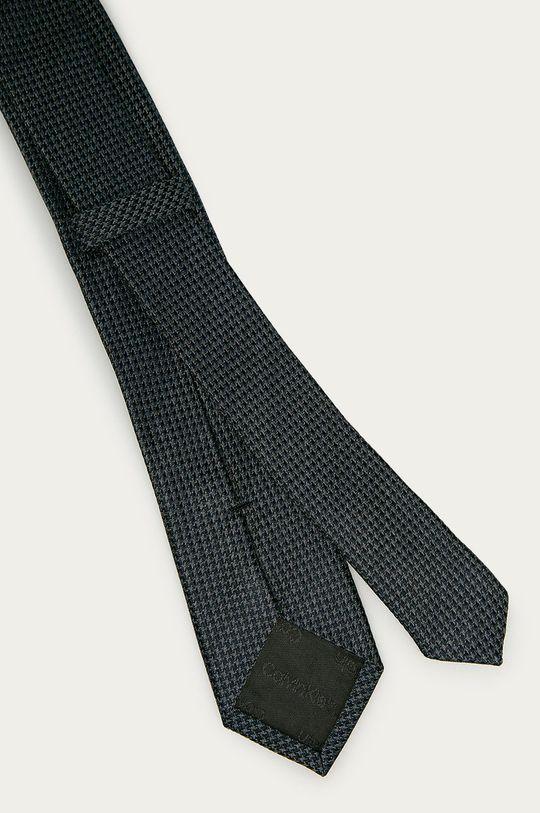 Calvin Klein - Krawat grafitowy