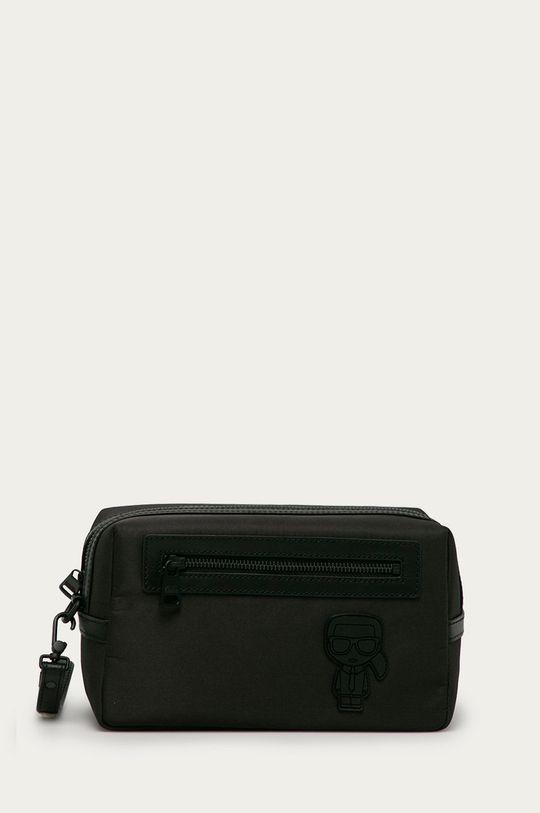 czarny Karl Lagerfeld - Kosmetyczka Męski
