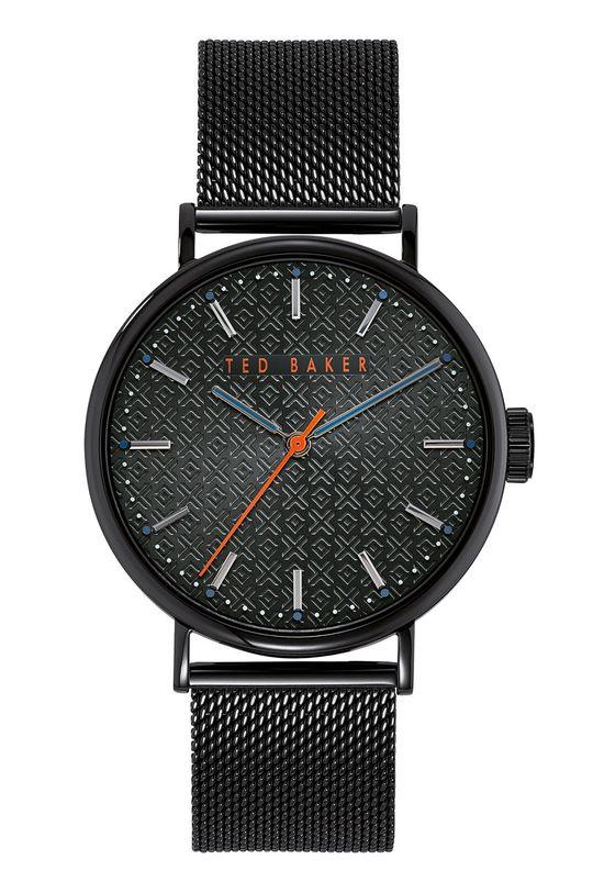 czarny Ted Baker - Zegarek BKPMMS002 Męski