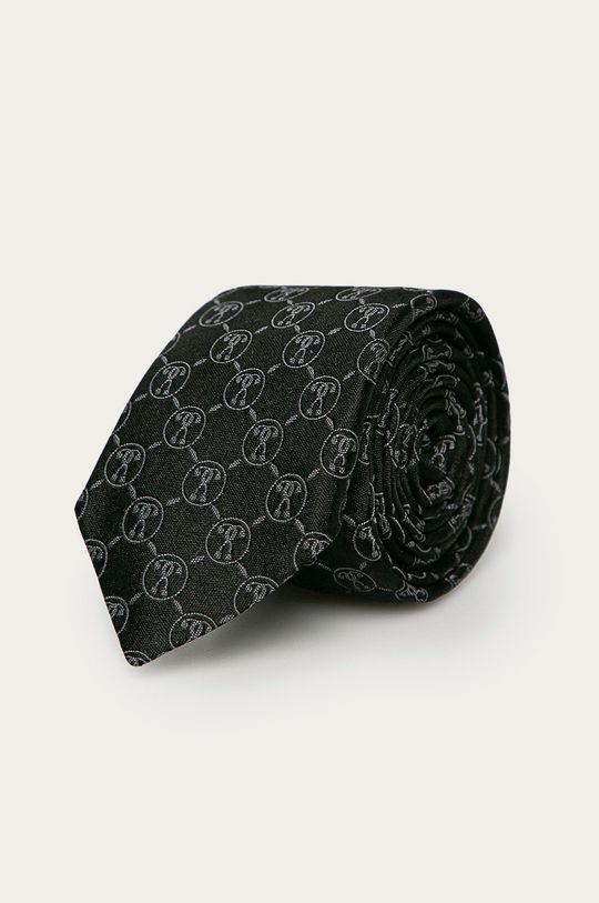 czarny Moschino - Krawat Męski