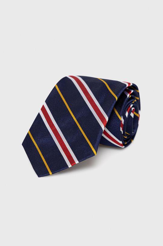 granatowy Polo Ralph Lauren - Krawat Męski