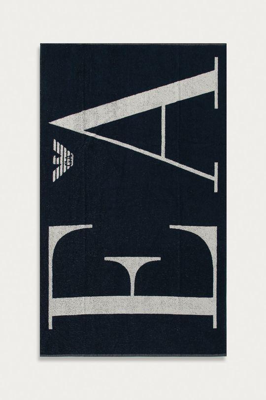 granatowy Emporio Armani - Ręcznik Męski