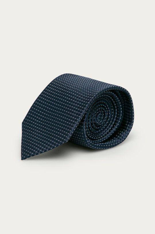 granatowy Strellson - Krawat Męski